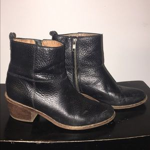 Madewell leather ankle boots